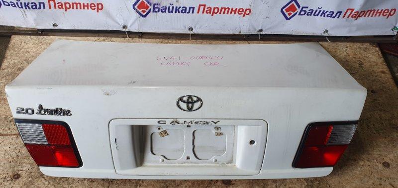 Крышка багажника Toyota Camry SV41 3S-FE 1997 задняя