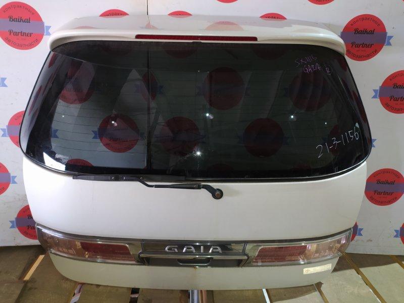 Дверь 5-я Toyota Gaia SXM15 3S-FE