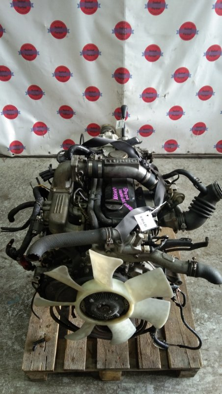 Двигатель Nissan Terrano LBYD21 TD27 1993
