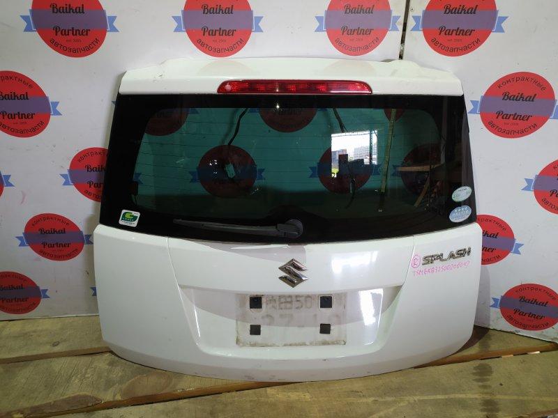 Дверь 5-я Suzuki Splash B32S K12B