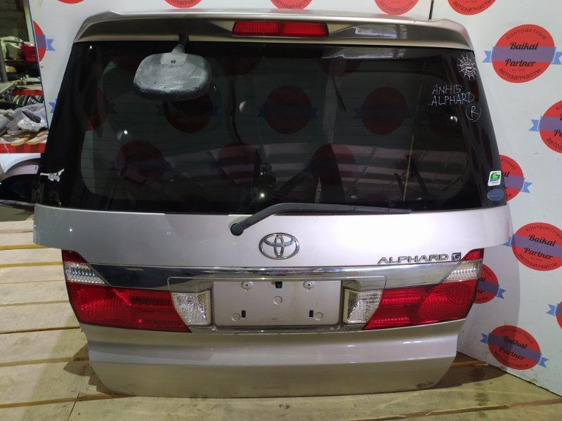 Дверь 5-я Toyota Alphar ANH15 2AZ-FE