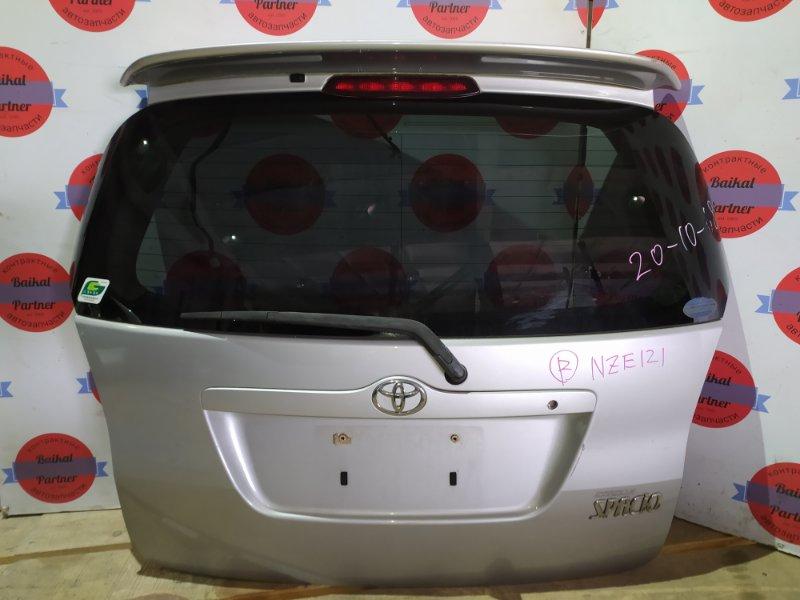 Дверь 5-я Toyota Corolla Spacio NZE121 1ZZ-FE