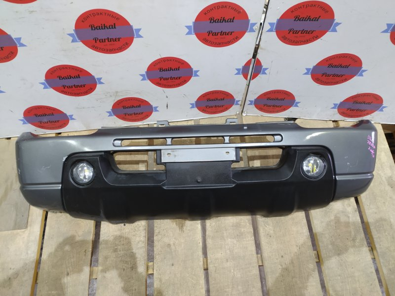 Бампер Suzuki Jimny JB23W K6A передний