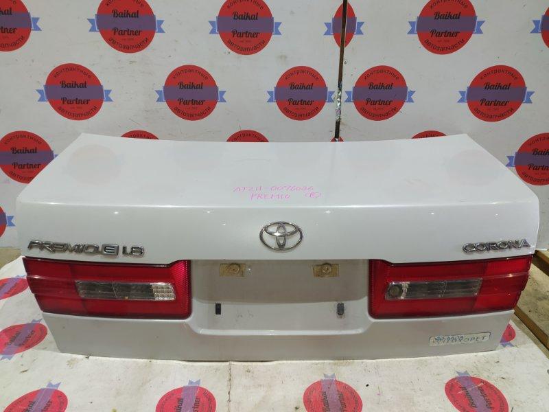 Крышка багажника Toyota Premio AT211 7A-FE 1998 задняя
