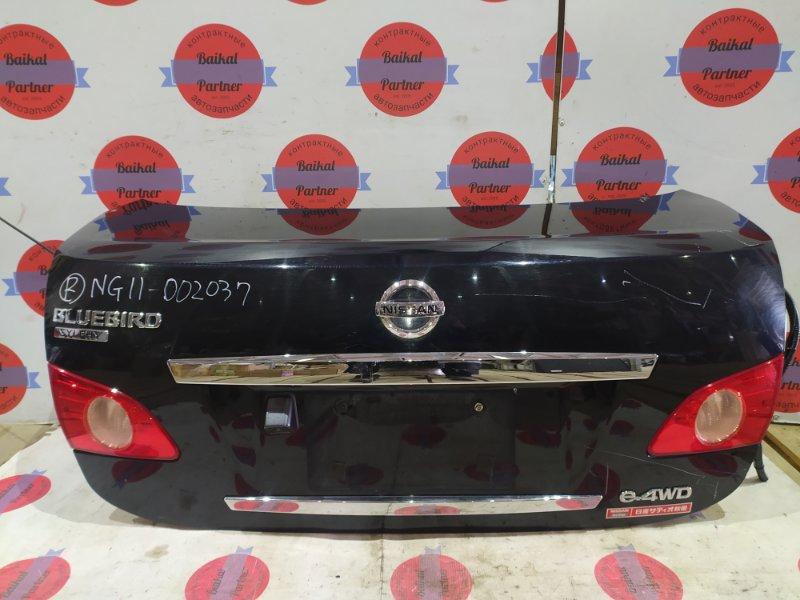 Крышка багажника Nissan Bluebird Sylphy NG11 задняя