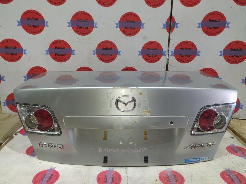Крышка багажника Mazda Atenza GG3P L3-VE задняя