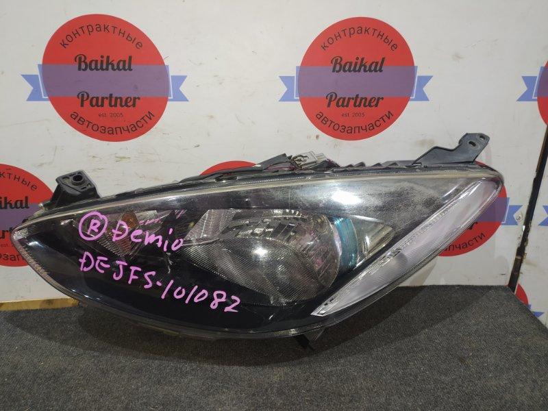 Фара Mazda Demio DEJFS передняя левая P94-89