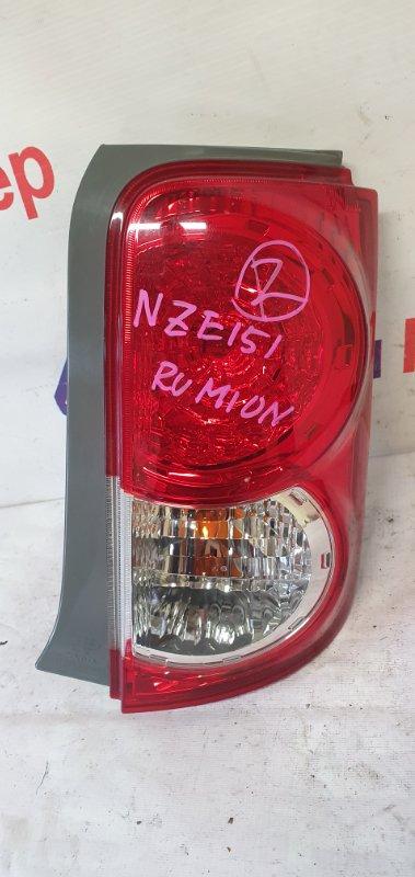 Стоп Toyota Corolla Rumion NZE151N 1NZ-FE 2008 задний правый 12-541