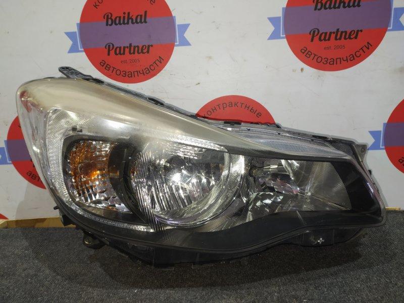 Фара Subaru Impreza GJ7 FB20 2012.5 передняя правая P9931