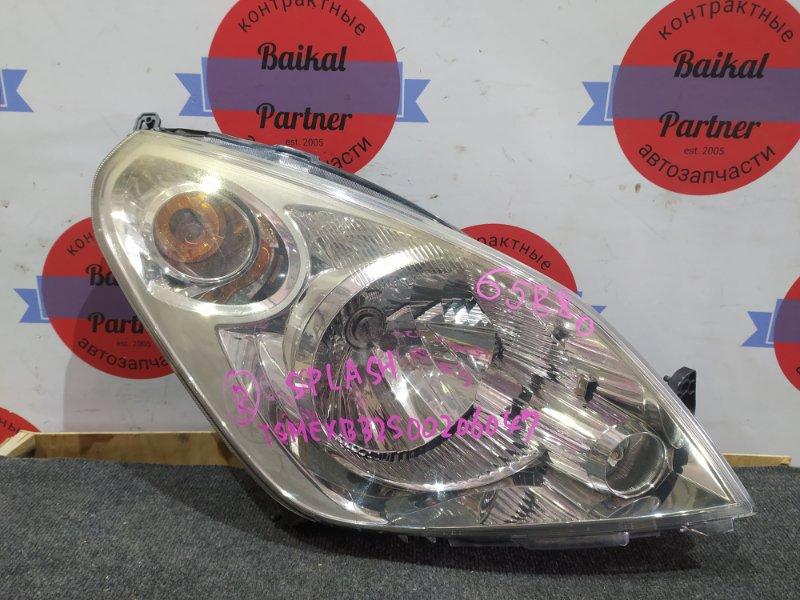 Фара Suzuki Splash B32S K12B передняя правая 57-59