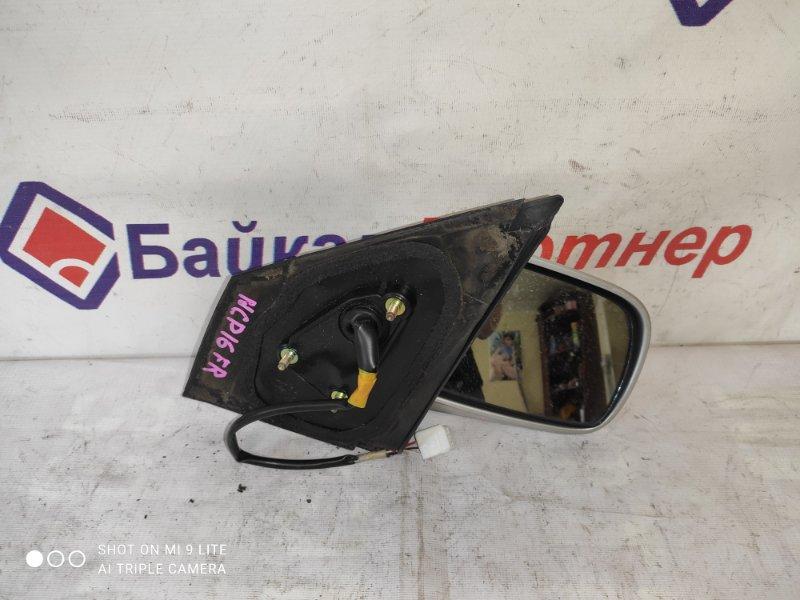 Зеркало Toyota Platz NCP16 1NZ-FE 2002 переднее правое