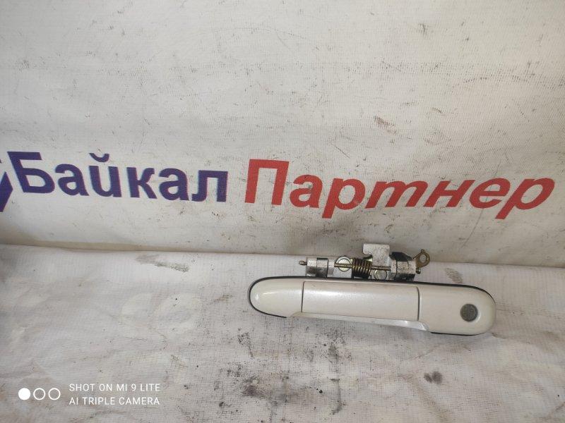 Ручка двери Toyota Raum EXZ15 5E-FE передняя левая