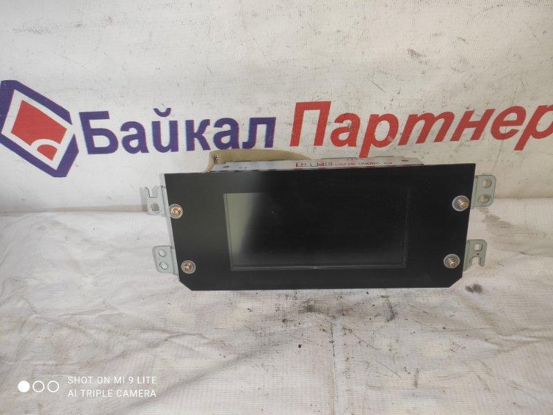 Монитор Nissan Teana TNJ31 QR25DE