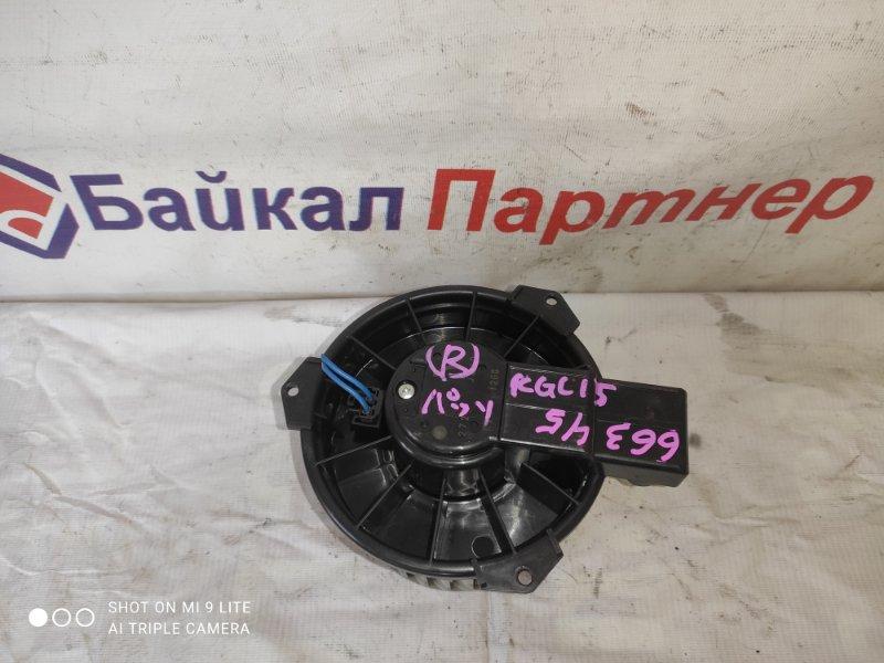 Мотор печки Toyota Passo KGC15 1KR-FE