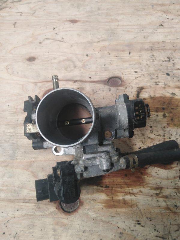 Заслонка дроссельная Toyota Vitz NCP15 2NZ-FE