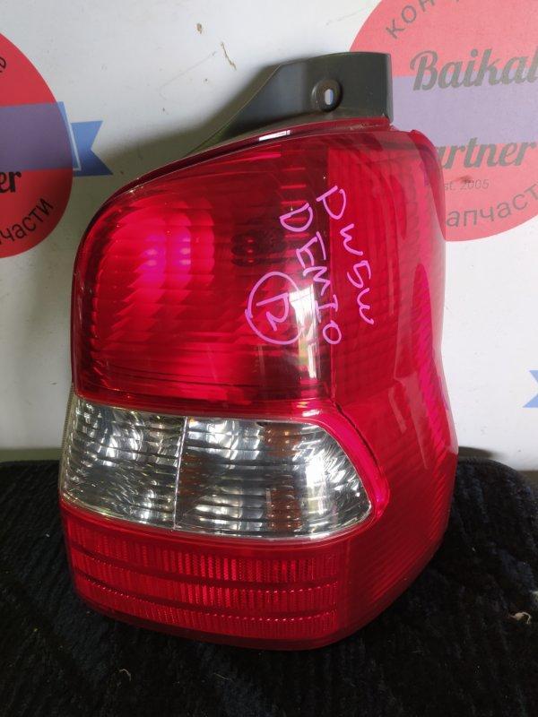Стоп Mazda Demio DW5W B5-E задний правый 49-02