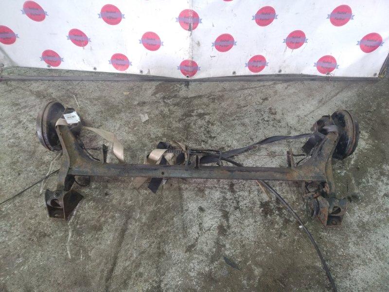 Балка подвески Mazda Demio DW5W B5 задняя