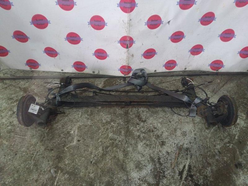 Балка подвески Toyota Prius NHW20 1NZ-FXE задняя