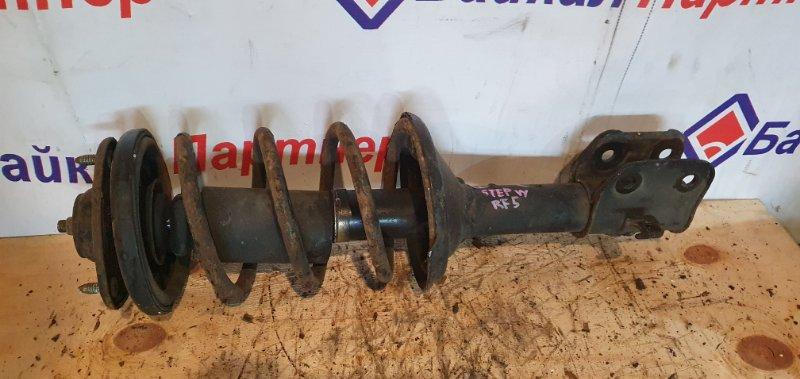 Стойка подвески Honda Step Wagon RF5 K20A передняя левая