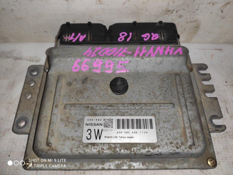 Блок управления двс Nissan Ad VHNY11 QG18DE 2002 A56-V62