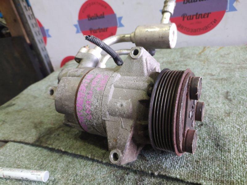 Компрессор кондиционера Nissan Bluebird Sylphy NG11 HR15DE