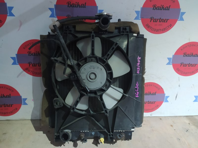 Радиатор двс Toyota Passo KGC30 1KR-FE