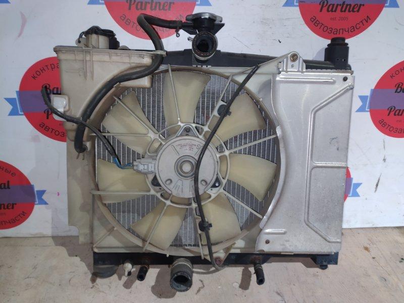 Радиатор двс Toyota Platz SCP11 1SZ-FE