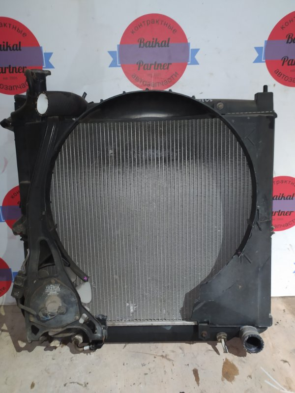 Радиатор двс Toyota Regius KCH46W 1KZ-TE