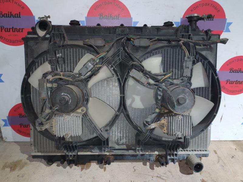 Радиатор двс Nissan Serena KVNC23 CD20T 1993
