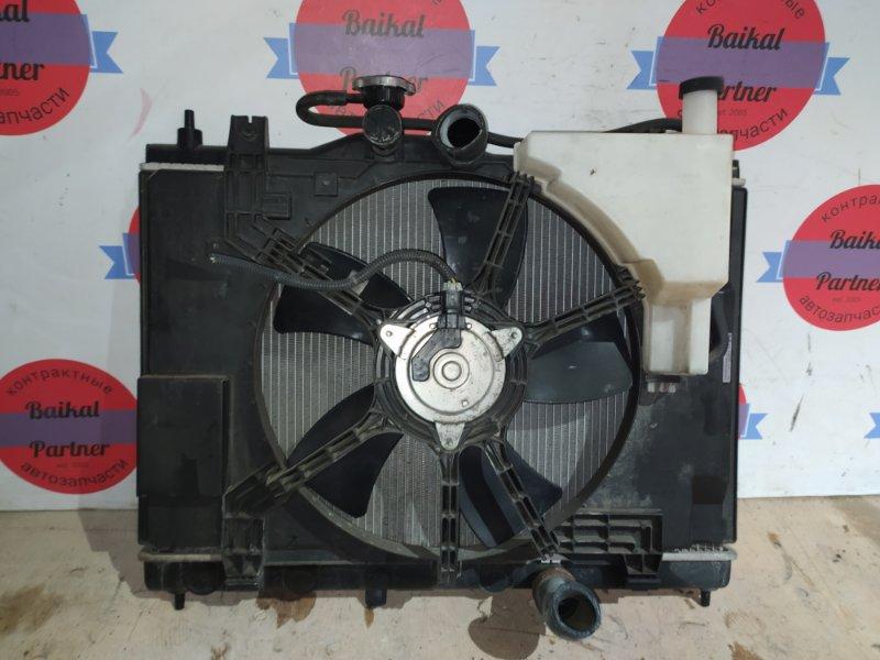 Радиатор двс Nissan Tiida C11 HR15DE