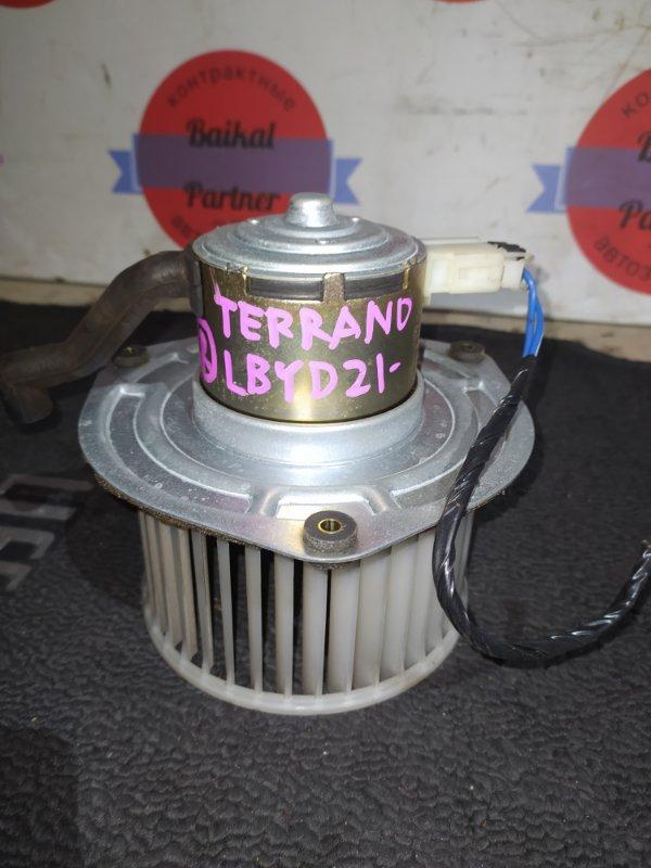 Мотор печки Nissan Terrano LBYD21 TD27 1993