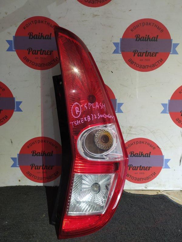 Стоп Suzuki Splash B32S K12B задний правый 071-03