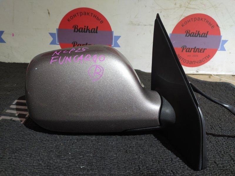 Зеркало Toyota Funcargo NCP25 1NZ-FE переднее правое