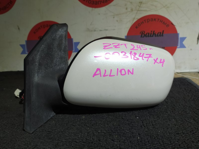 Зеркало Toyota Allion ZZT245 1ZZ-FE переднее левое