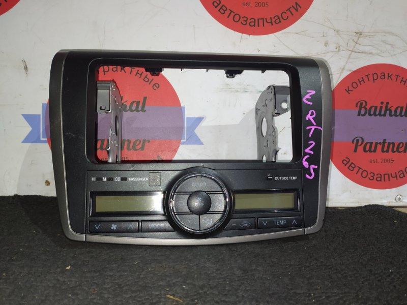 Блок управления климат-контролем Toyota Allion ZRT265 2ZR-FE