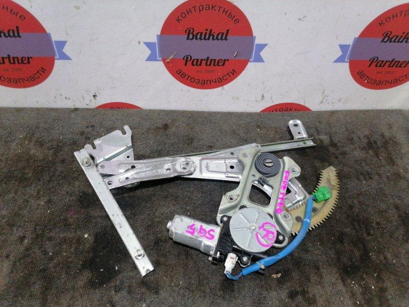 Стеклоподъемный механизм Subaru Forester SG5 передний левый