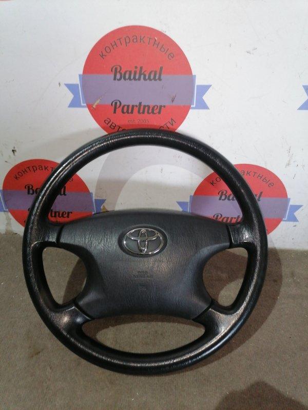 Руль Toyota Corolla Spacio ZZE124 1ZZ-FE