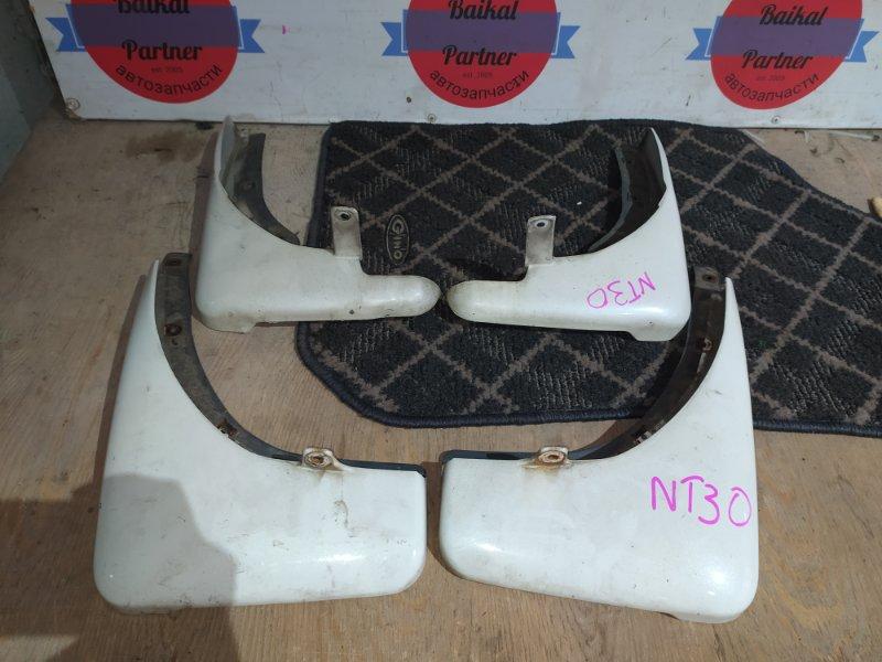 Брызговики комплект Nissan Xtrail NT30 QR20-DE
