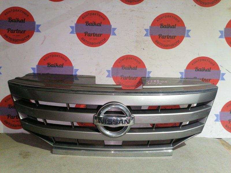 Решетка радиатора Nissan Serena NC26 MR20DE