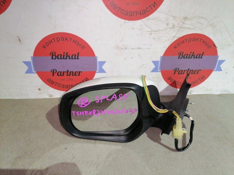 Зеркало Suzuki Splash B32S K12B переднее левое