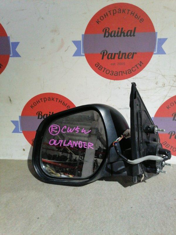 Зеркало Mitsubishi Outlander CW5W 4B12 переднее левое