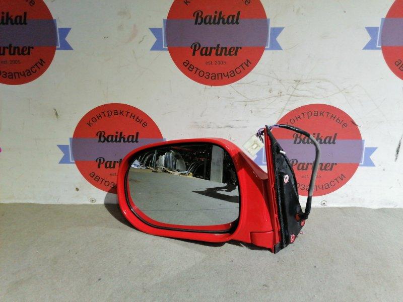 Зеркало Toyota Hiace Regius KCH46W 1KZ-TE переднее левое