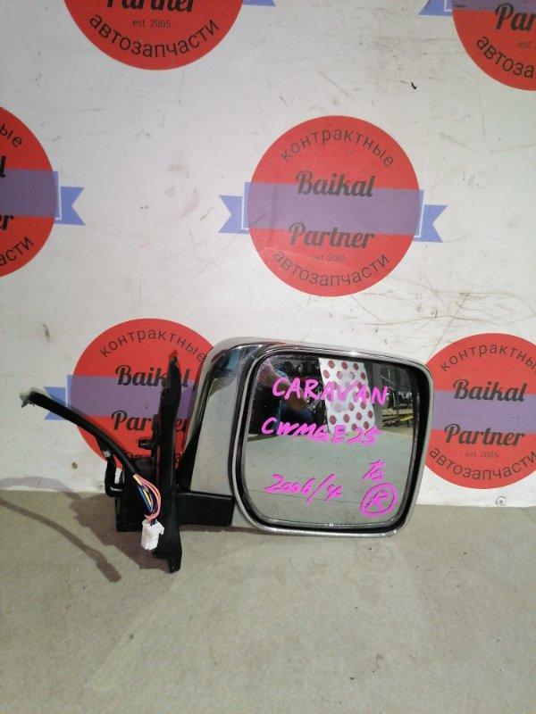 Зеркало Nissan Caravan DWMGE25 переднее правое