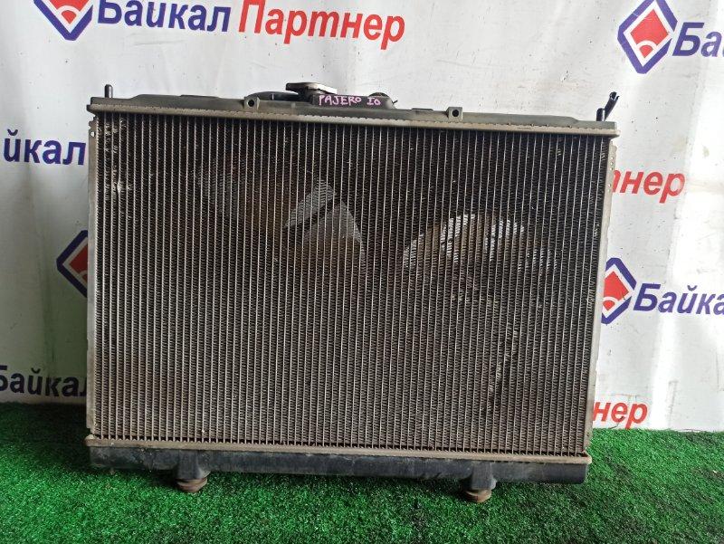 Радиатор двс Mitsubishi Pajero Io H77W