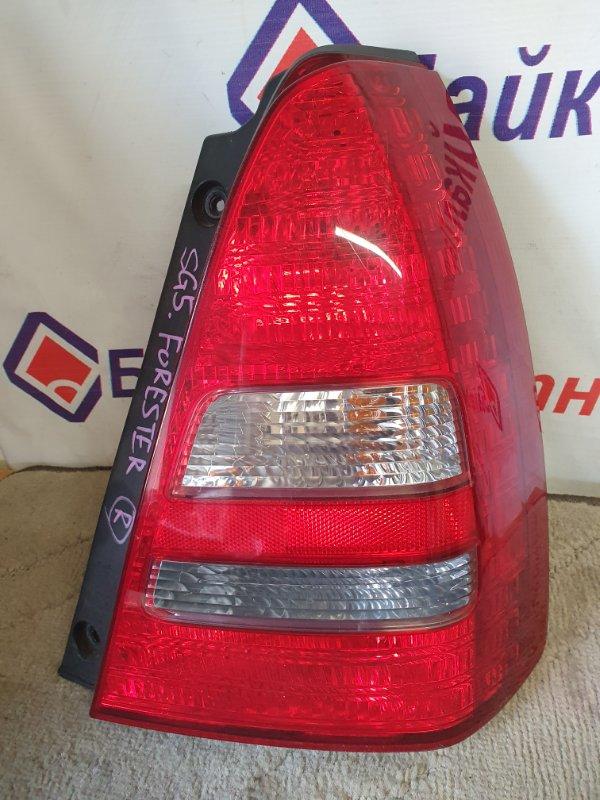 Стоп Subaru Forester SG5 EJ20 2003 задний правый 220-20762