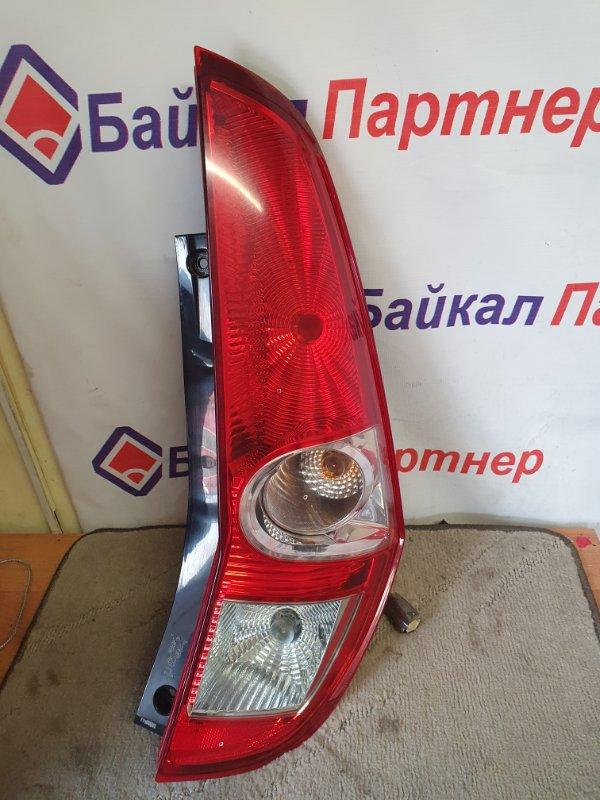 Стоп Suzuki Splash XB32S 2010 задний правый 05-28