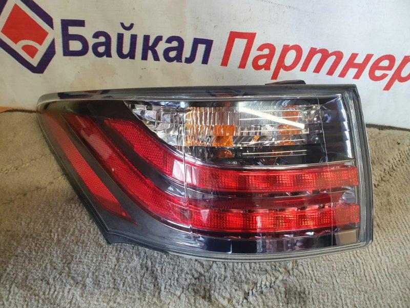 Стоп Lexus Ct200H ZWA10 задний левый 76-15