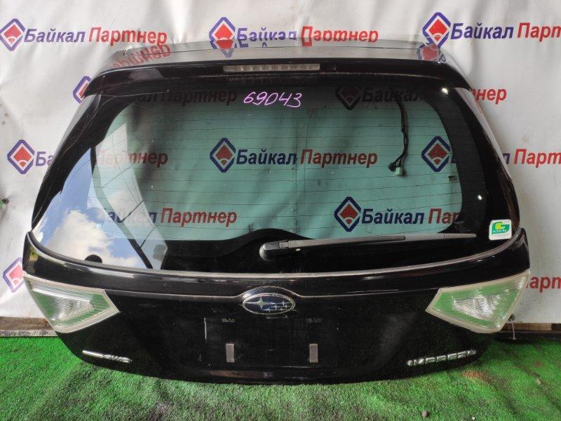 Дверь 5-я Subaru Impreza GH3 EL15 2010 задняя