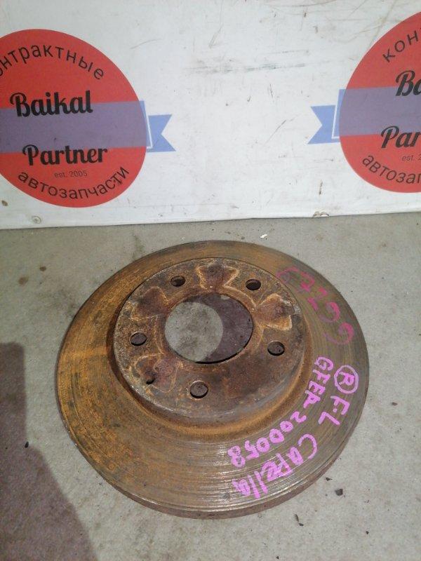 Тормозной диск Mazda Capella GFEP FS-ZE передний
