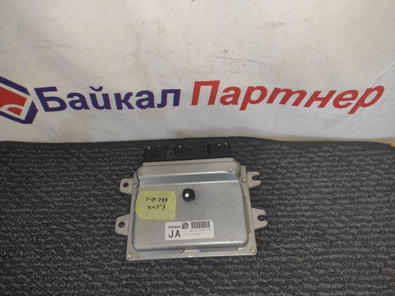 Блок управления двс Nissan Elgrand TE52 QR25DE 2010 MEC123-110